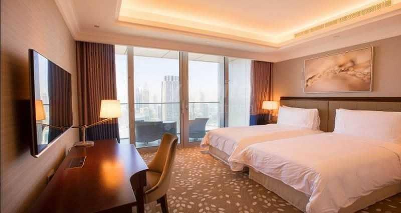 5 Luxury Furnished I Maid's Rm I Burj Khalifa  View