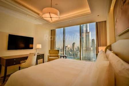 2 Bedroom Apartment for Rent in Downtown Dubai, Dubai - Spacious Luxury 2 BR w/ Fountain and Burj View