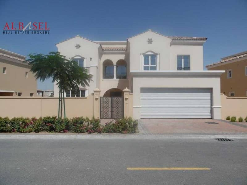2 Stunning 5BR  Villa | Golf  Club Community | Available for Rent!