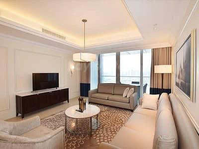 شقة 2 غرفة نوم للبيع في وسط مدينة دبي، دبي - Luxury and Serviced I High Floor I Cityscape View