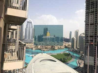 1 Bedroom Flat for Rent in Downtown Dubai, Dubai - Fountain View | Opera House View | Furnished Elegantly | Chiller Free |