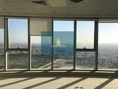 Office for Rent in Business Bay, Dubai - High Floor | 2 Parkings | Canal & Burj Al Arab View | Open Plan Fitted | Pantry