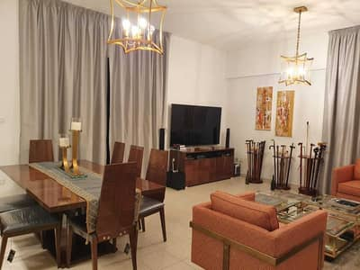 2 Bedroom Flat for Rent in The Greens, Dubai - CHILLER FREE 2 BHK WITH STUDY WITH COURTYARD FOR RENT