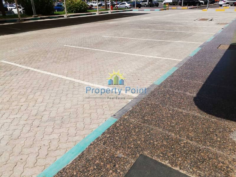 10 321 SQM Showroom for RENT | Shell and Core | Great Location | Corniche Road