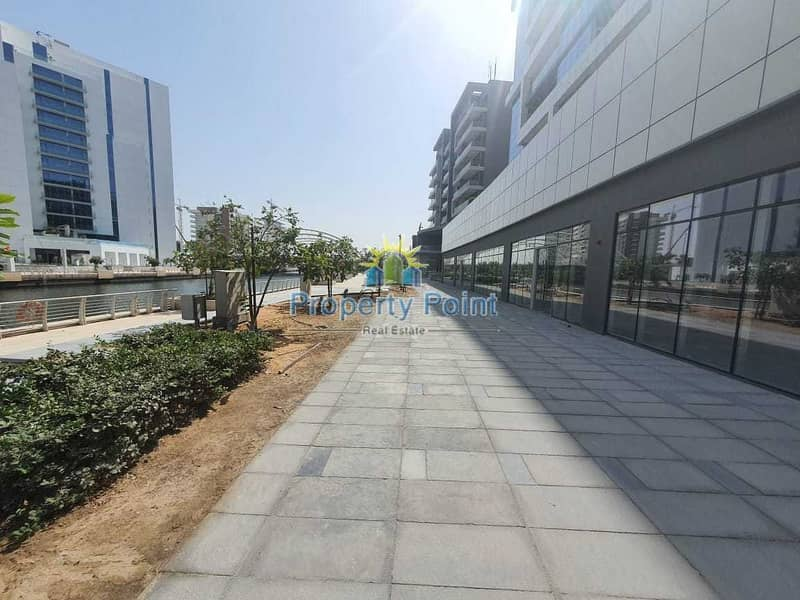 195 SQM Showroom for RENT | Spacious Layout | Prime Location in Al Raha Beach