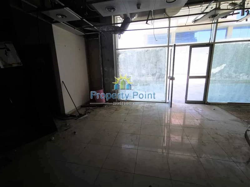 2 500 SQM Showroom for RENT   Ground and Mezzanine Floor   Ideal Location for Business in Khalifa Park Area