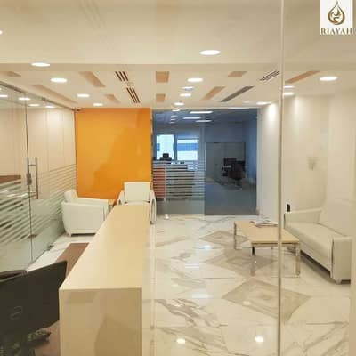 Office for Rent in Hamdan Street, Abu Dhabi - Well Maintained Office Business Center Building up to 4 Payments