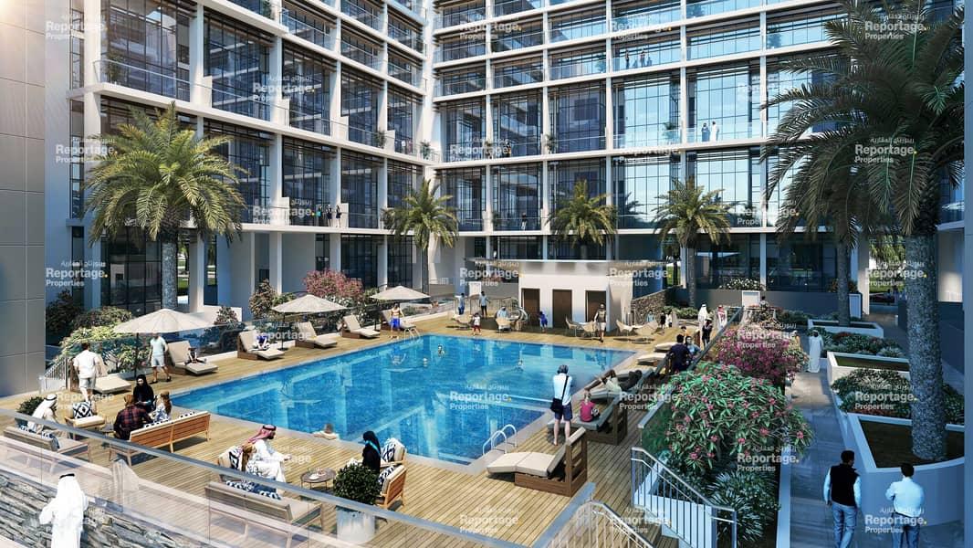 شقة في الواحة ريزيدنس 2 الواحة ريزيدنس مدينة مصدر 1 غرف 779000 درهم - 5156640