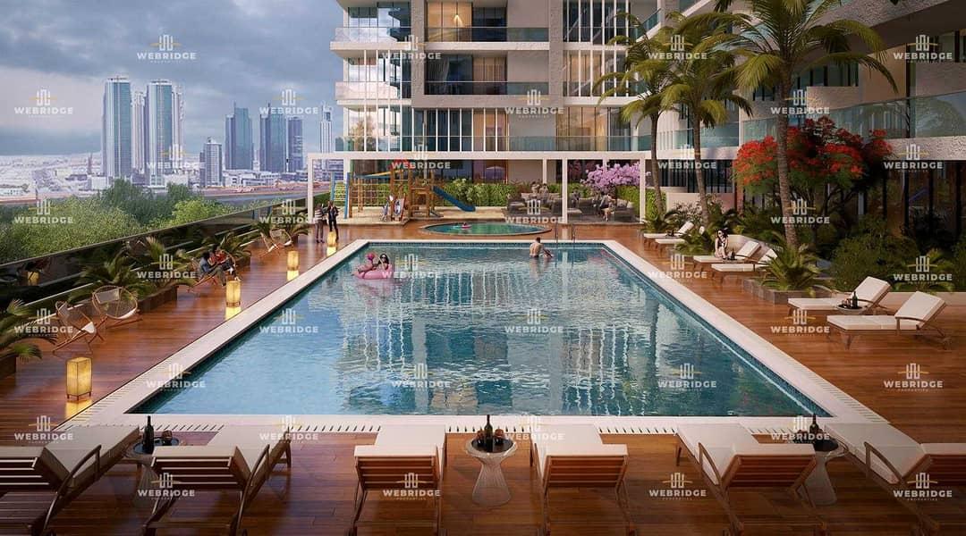 Elegant furnished  1bhk from developer hand over Q1 2024