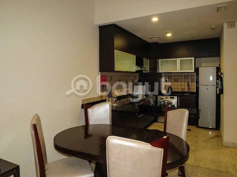 شقة في فندق غايا جراند مدينة دبي للإنتاج 1 غرف 8999 درهم - 4697749