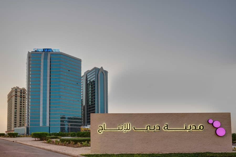 شقة فندقية في فندق غايا جراند مدينة دبي للإنتاج 2 غرف 130000 درهم - 4699009