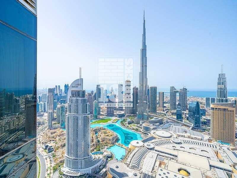 17 Fountain/Burj Khalifa View | Corner | High Floor