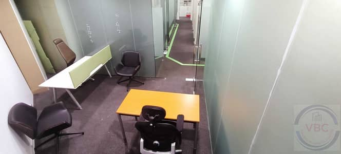 Office for Rent in Deira, Dubai - GET 200SQFT OFFICE WITH SEA VIEW FOR ONLY 14