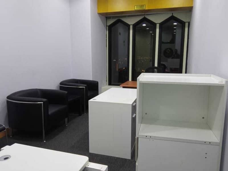 No Commisson|Furnished office for rent|Deira Creek