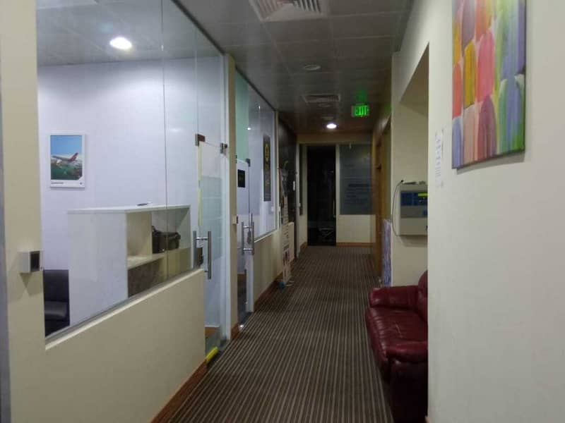 10 No Commisson|Furnished office for rent|Deira Creek