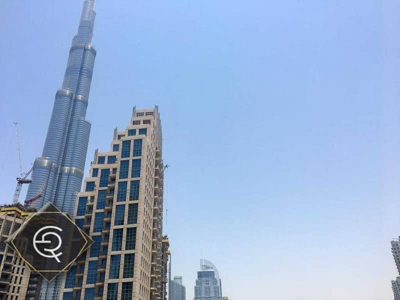 2 Bed room  with Burj khalifa  for rent