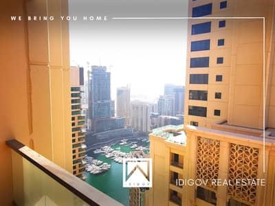فلیٹ 2 غرفة نوم للايجار في جميرا بيتش ريزيدنس، دبي - Best Layout | Very Bright | Full Marina View