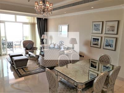 فلیٹ 2 غرفة نوم للايجار في نخلة جميرا، دبي - Hotel facility / Garden view / Silver package