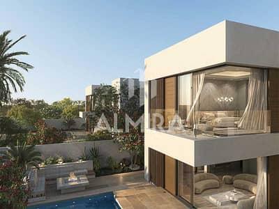 5 Bedroom Villa for Sale in Saadiyat Island, Abu Dhabi - Come home in newest villa corner plot in Saadiyat
