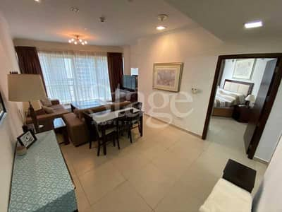 1 Bedroom Apartment for Rent in Jumeirah Lake Towers (JLT), Dubai - FURNISHED 1 BEDROOM   LAKE & SZR VIEW   GOLDCREST EXECUTIVE