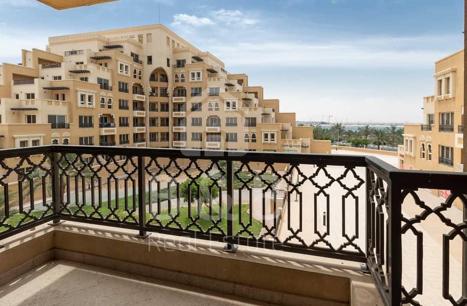 شقة في باب البحر جزيرة المرجان 1 غرف 30000 درهم - 5206367