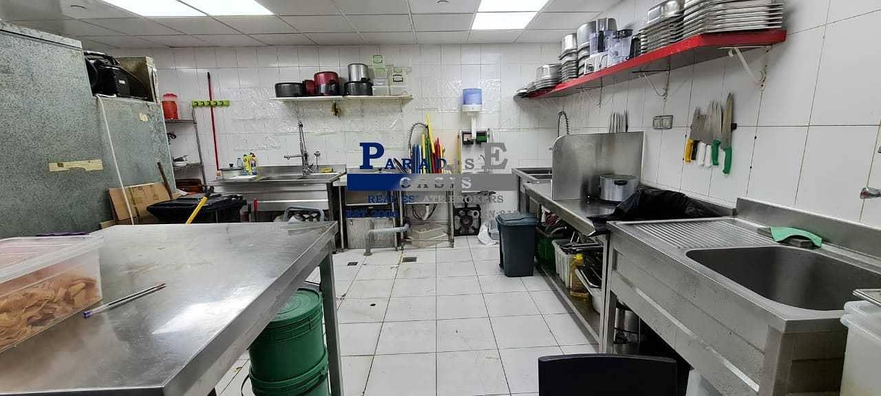 15 Cloud Kitchen I Vacant I Furnished Restaurant