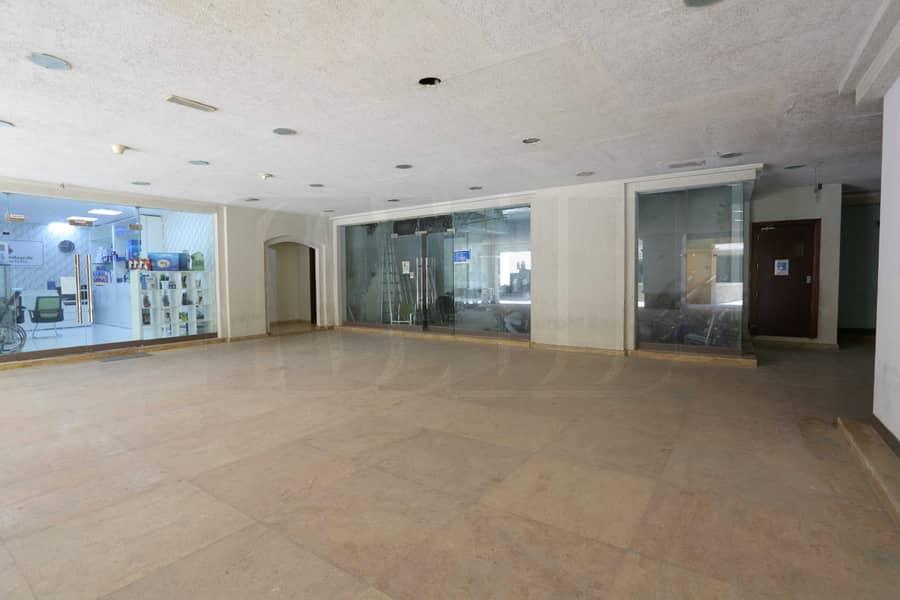 Retail Space Ground Floor | Front Facing Exposure