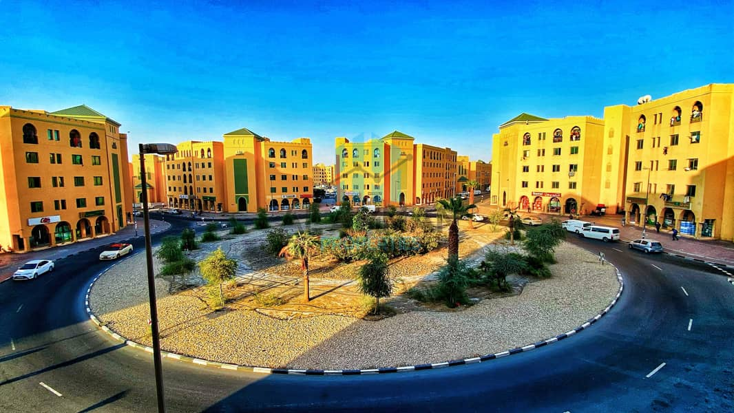 Spotless 1 Bedroom With Beautiful View For Rent In Morocco Cluster International City Dubai