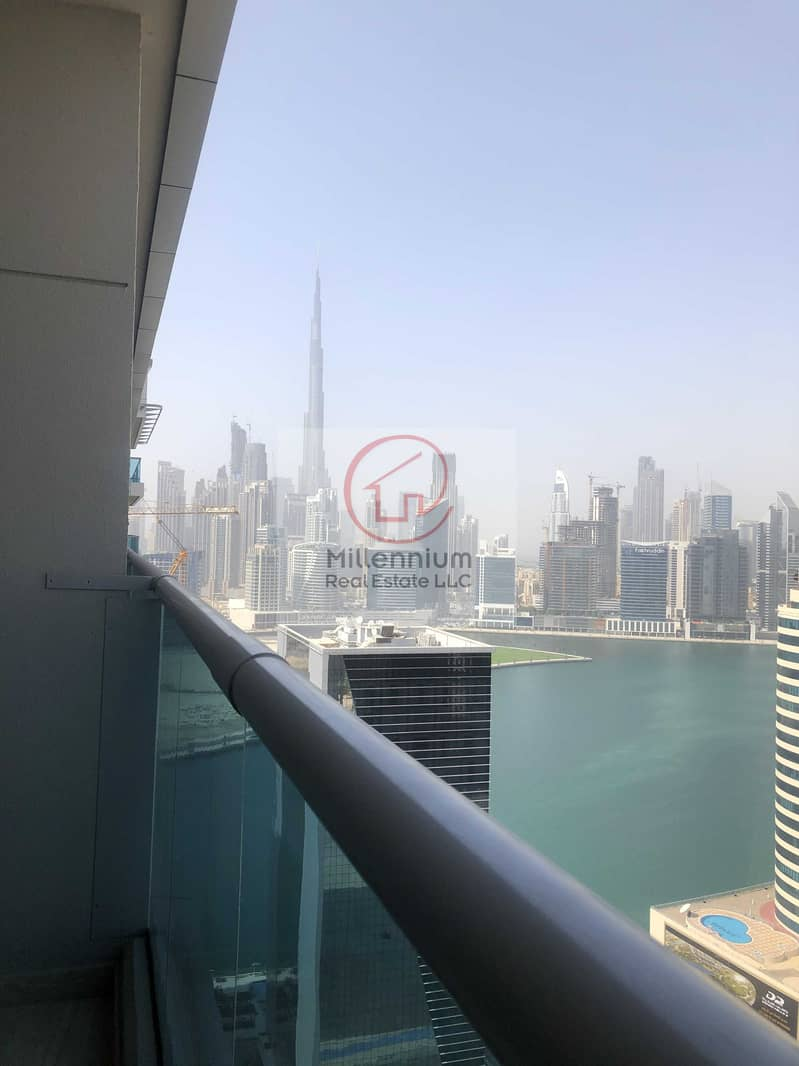 Luxury fully furnished Studio with 38 K  Year !