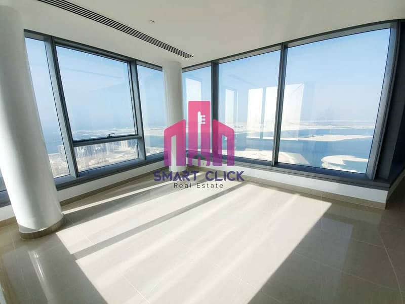 Hot Deal, a luxury apartment with a Big Size  and full Sea view, come to Own now