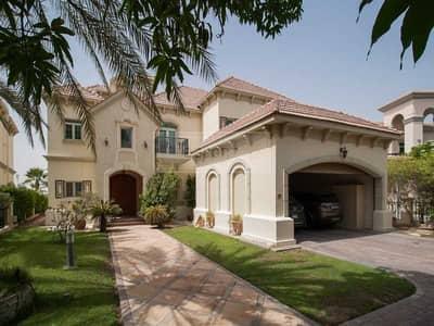 فیلا 4 غرف نوم للبيع في جزر جميرا، دبي - Lake View | Large Plot | Private Pool | Vacant on Transfer