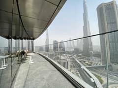 شقة في العنوان ريزدينسز سكاي فيو 1 العنوان رزيدنس سكاي فيو وسط مدينة دبي 3 غرف 4785000 درهم - 5272491