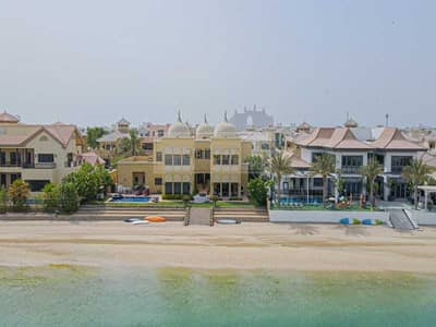 6 Bedroom Villa for Sale in Palm Jumeirah, Dubai - Exclusive |  Skyline View | 6-BR Villa w/ Private Pool and Beach Access