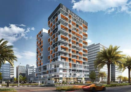 1 Bedroom Flat for Sale in Dubai Silicon Oasis, Dubai - 1bed in slicon oasis bay 200k by installment for 6 month and the rest monthly installment