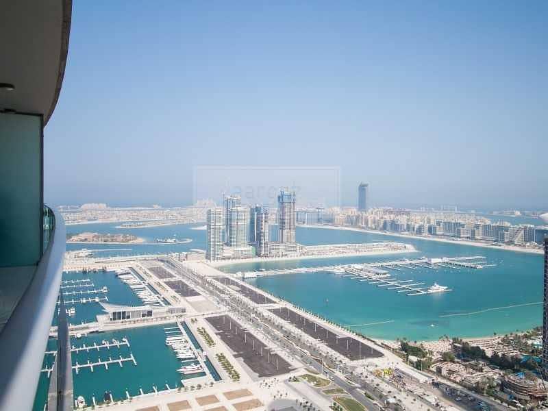 Top Floor | Panoramic Marina Views | Vacant Unit
