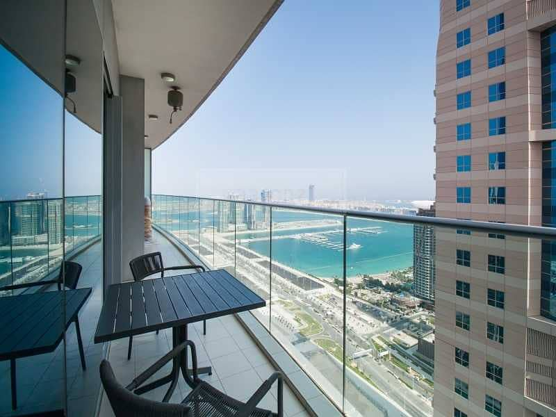 2 Top Floor | Panoramic Marina Views | Vacant Unit