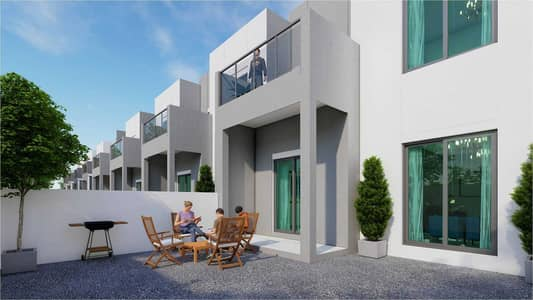 4 Bedroom Townhouse for Sale in Al Furjan, Dubai - Owns a villa near the metro two floors garden in installments book now limited units available