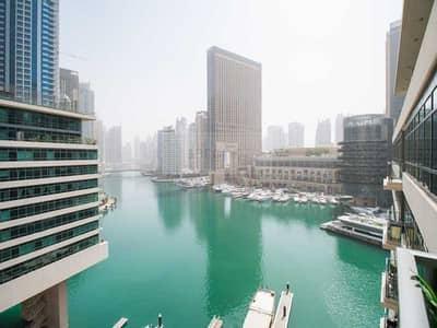 شقة 1 غرفة نوم للبيع في دبي مارينا، دبي - Marina Views | Unfurnished Unit | Vacant 1 BR