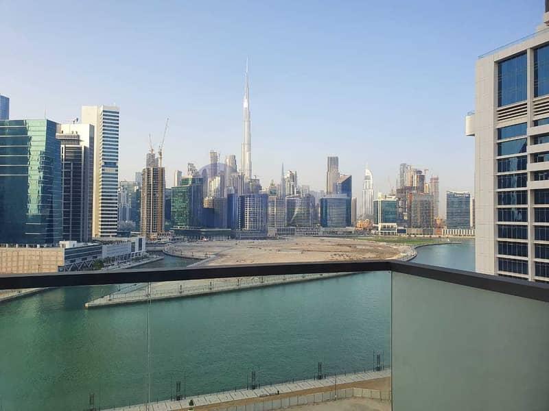 2 Buj Khalifa N Canal View | 1 Bed Apt |Atria Business Bay