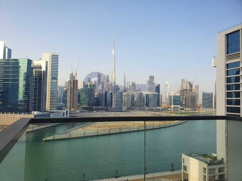 20 Buj Khalifa N Canal View | 1 Bed Apt |Atria Business Bay