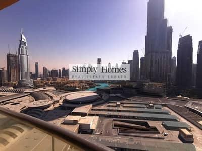 شقة 3 غرف نوم للبيع في وسط مدينة دبي، دبي - Burj Khalifa View | Fully Furnished | Well Maintained