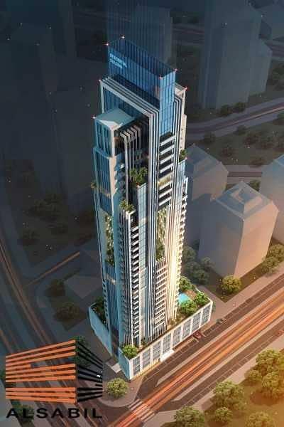 استوديو  للبيع في قرية جميرا الدائرية، دبي - Fully Furnished Studio 7 Years Payment Plan