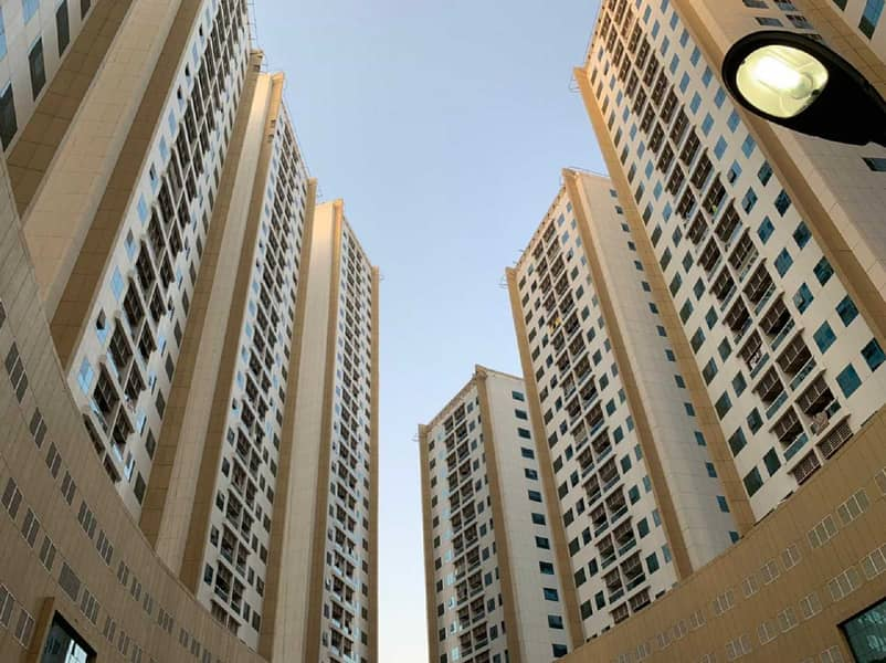 1 Bedroom with 2 bathrooms in Ajman Pearl Towers