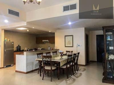 شقة 3 غرف نوم للايجار في دبي مارينا، دبي - Furnished Unit  with Maid | Close to DMCC Metro Station | Chiller-free