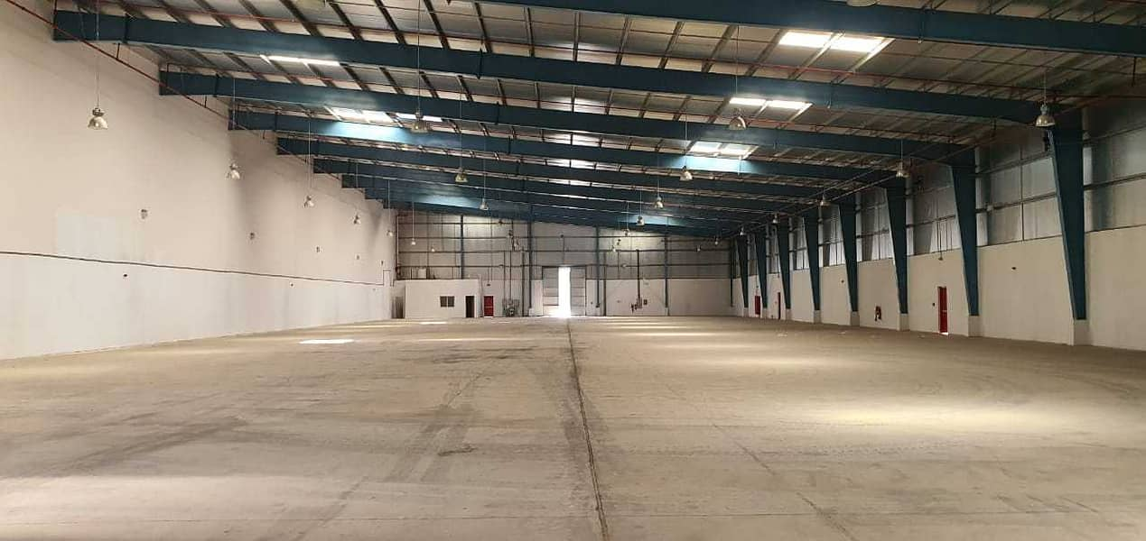 35,000 Sq ft Insulated Warehouse Over Looking the Main Road in Emirates Modern industrial,  Umm Al Quwain