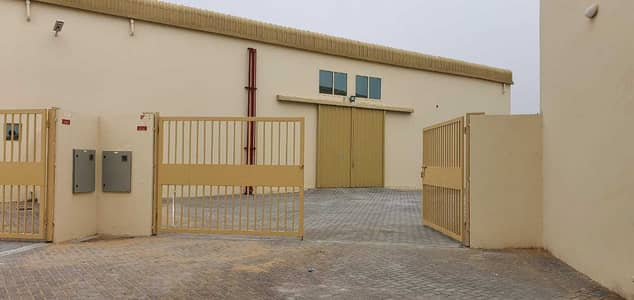 Plot for Rent in Al Saja, Sharjah - 13,000 Sq ft Open Land with Warehouse available in Al Saja Industrial area, Sharjah