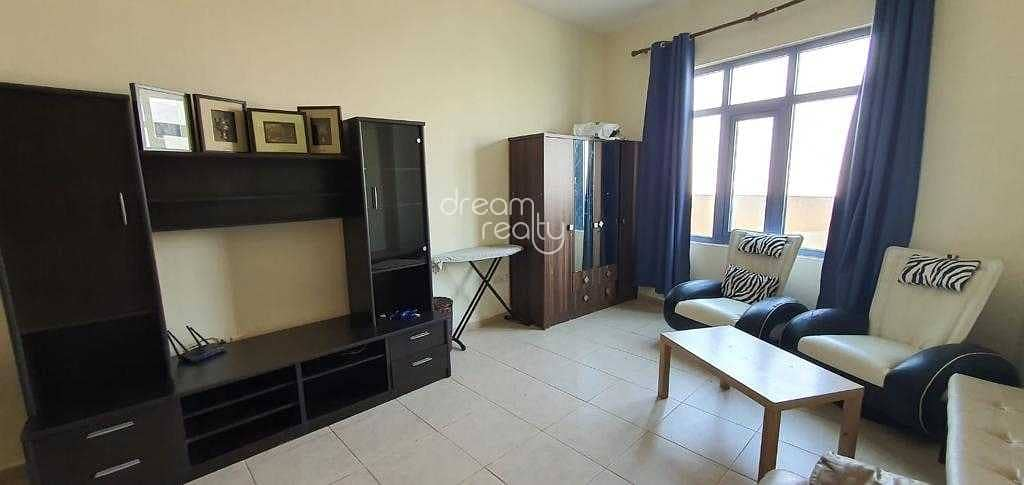 FULLY FURNISHED STUDIO | CHILLER FREE | READY TO MOVE ONLY 21K