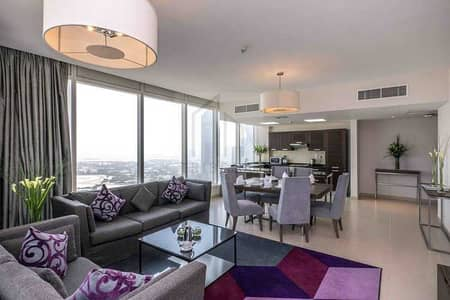 2 Bedroom Hotel Apartment for Rent in Sheikh Zayed Road, Dubai - Fully Equipped Kitchen   Standard Serviced   2 Bedroom