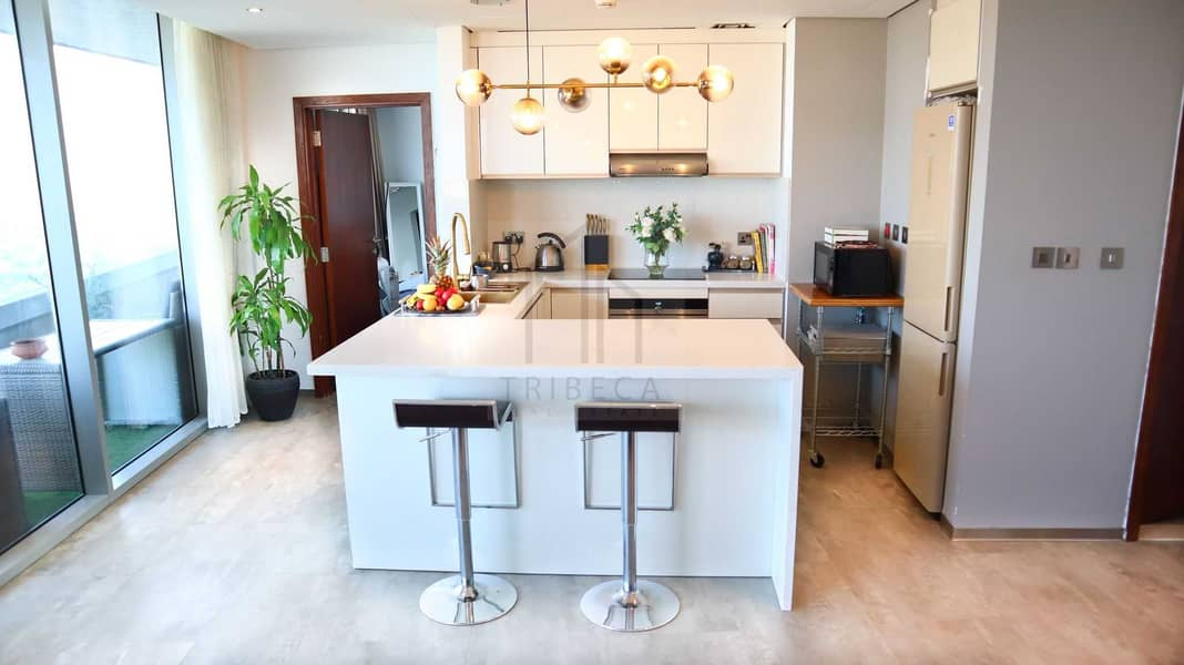 2 Furnished |  1 BR | Huge Balcony with Golf Course View