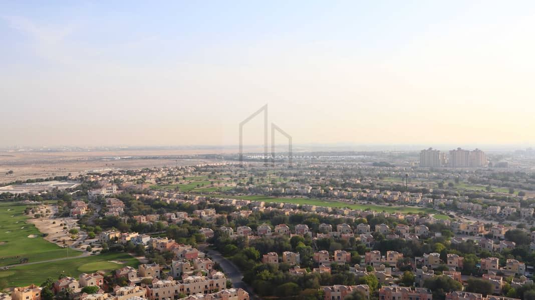 13 Furnished |  1 BR | Huge Balcony with Golf Course View